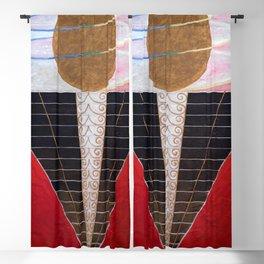 """Hilma af Klint """"Altarpiece No. 2"""" Blackout Curtain"""