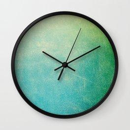 Jade Ombre Wall Clock