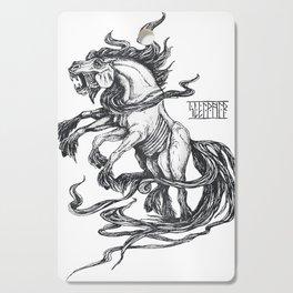 Mythological horse Sleipnir Cutting Board