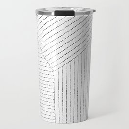 Lines Art Travel Mug