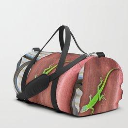 Green Anole Duffle Bag