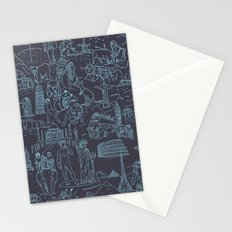 My destinations Stationery Cards