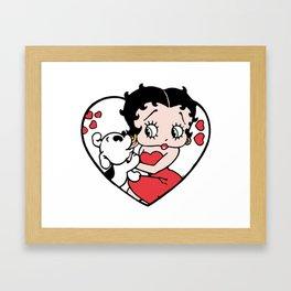 Betty Boop Framed Art Print
