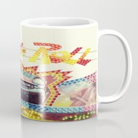 rock and roll Mugs featuring Rock & Roll by Libertad Leal Photography