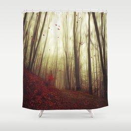 Leaf by Leaf Shower Curtain