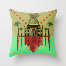 pineapple architecture 2 Throw Pillow