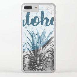 aloha Clear iPhone Case