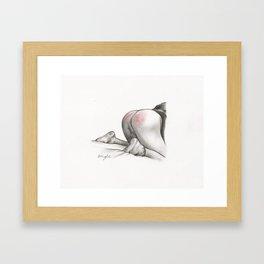 Naughty Framed Art Print