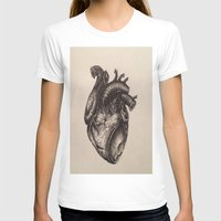 anatomical heart T-shirts featuring Anatomical Heart by Redmonks