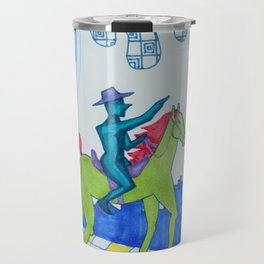 Lone Quixote Travel Mug