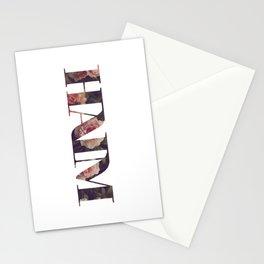 Haim floral logo Stationery Cards