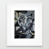 transparent Framed Art Prints featuring Transparent by Jessica Olson