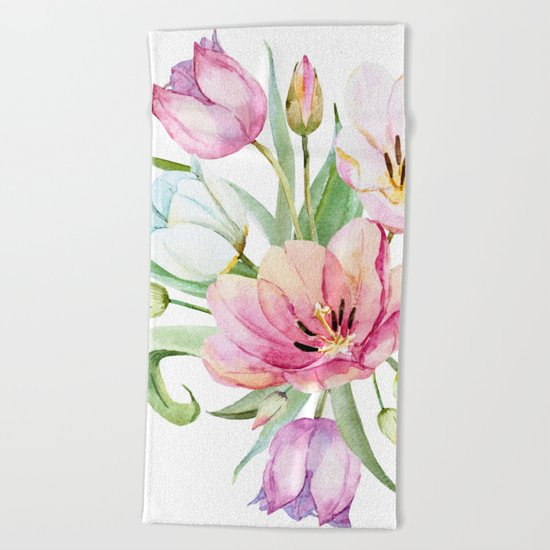 Spring is in the air #36 Beach Towel