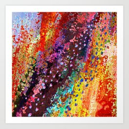 River Of Joy Art Print
