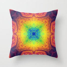 Psychedelic Two Throw Pillow
