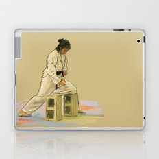 Preparing to Break a Brick Laptop & iPad Skin