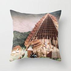 Ye Olde England Throw Pillow