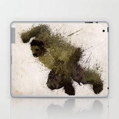 The Angry man Laptop & iPad Skin