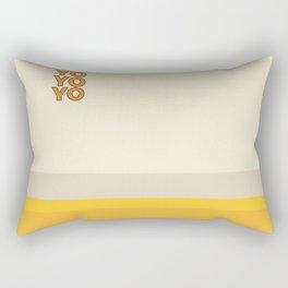 yo Rectangular Pillow