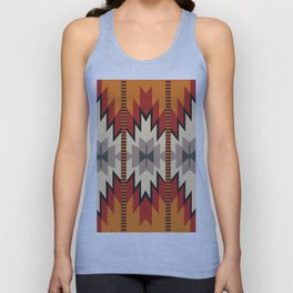 American Native Pattern No. 39 Unisex Tank Top