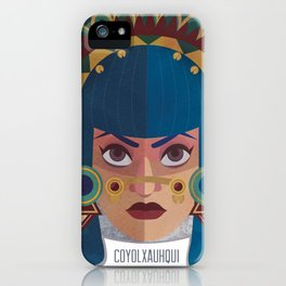 Coyolxauhqui iPhone Case