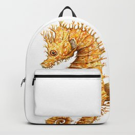 Sea horse, Horse of the seas, Seahorse beauty Backpack