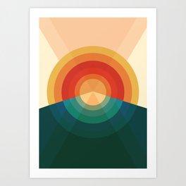 Sonar Art Print