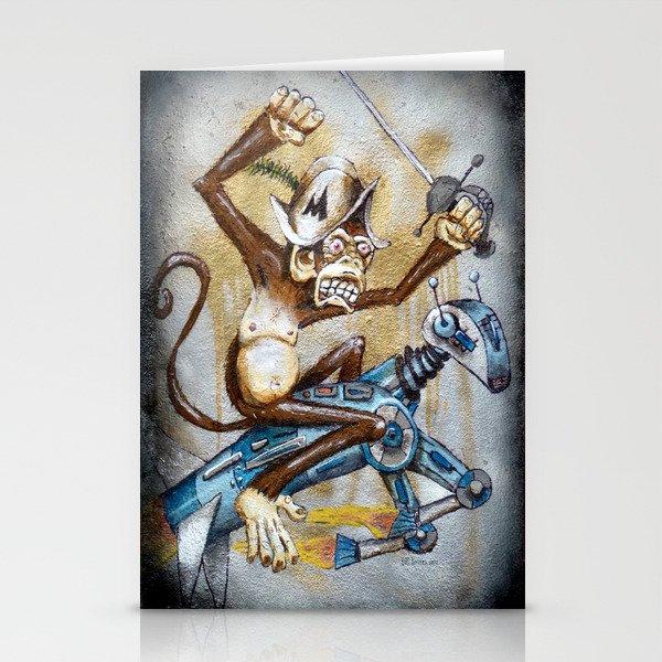 Paul's Monkey Stationery Cards