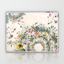 Circle of life- floral Laptop & iPad Skin