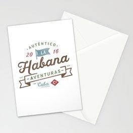 Vintage Havana Cuba Logo Stationery Cards