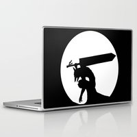 berserk Laptop & iPad Skins featuring Gatsu berserk armor by Ednathum