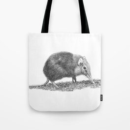 Black Shrew Tote Bag
