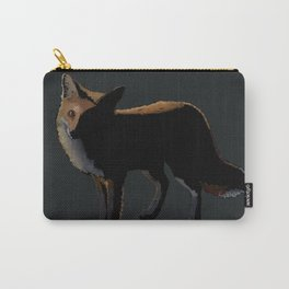 Fox in the Night Carry-All Pouch