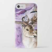 dreamcatcher iPhone & iPod Cases featuring Dreamcatcher by Anna Shell