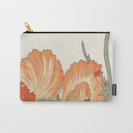 Birds and Plants Carry-All Pouch