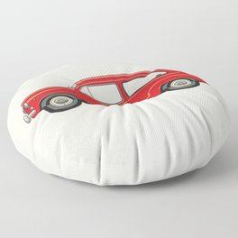 Automobile Zastava 750 - Zastava Floor Pillow