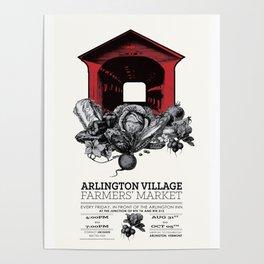 Arlington Village Farmers Market Poster