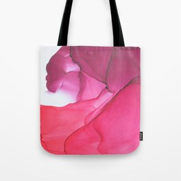 Red impression 1 Tote Bag
