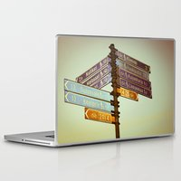 finland Laptop & iPad Skins featuring Oh, Suomi (Finland) by Kim Ramage