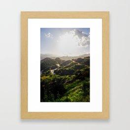 Griffith Park Framed Art Print