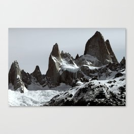 mountains of Patagonia Canvas Print