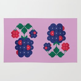 Fruit: Blackberry Rug