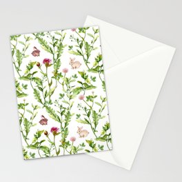 Easter Bunny Garden Stationery Cards