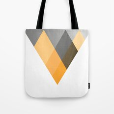 Landscape in Orange Tote Bag
