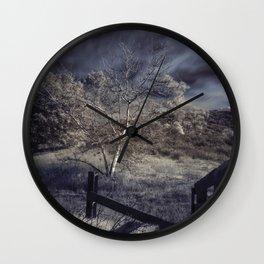 Dark Landscape Wall Clock