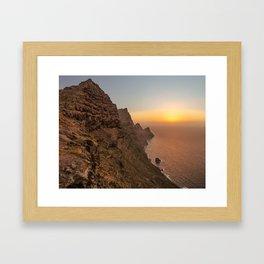 Isla de cuento. Framed Art Print