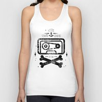tape Tank Tops featuring Pirate Tape by melted
