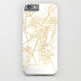 YEREVAN ARMENIA CITY STREET MAP ART iPhone Case