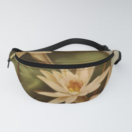 Vintage Water Lily Fanny Pack