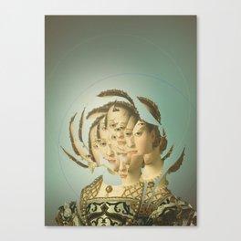 Another Portrait Disaster · Casandra 2 Canvas Print